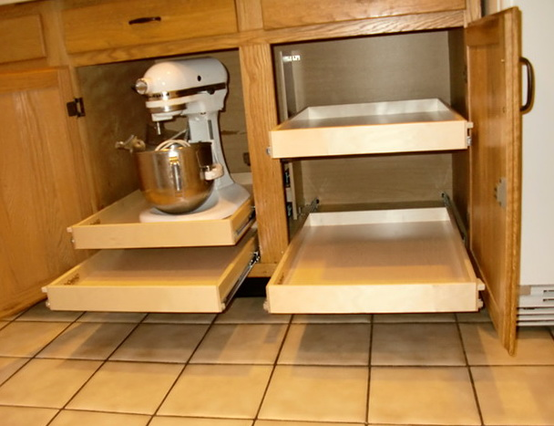 Kitchen Cabinet Organizers Pull Out Shelves