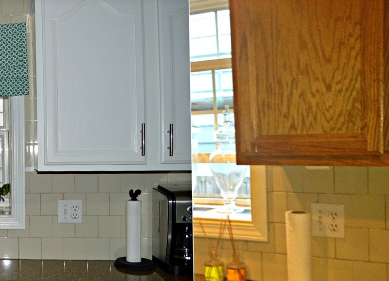 Kitchen Cabinet Painting Before And After Photos