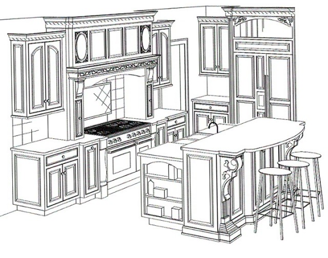 Kitchen Cabinets Design Plans