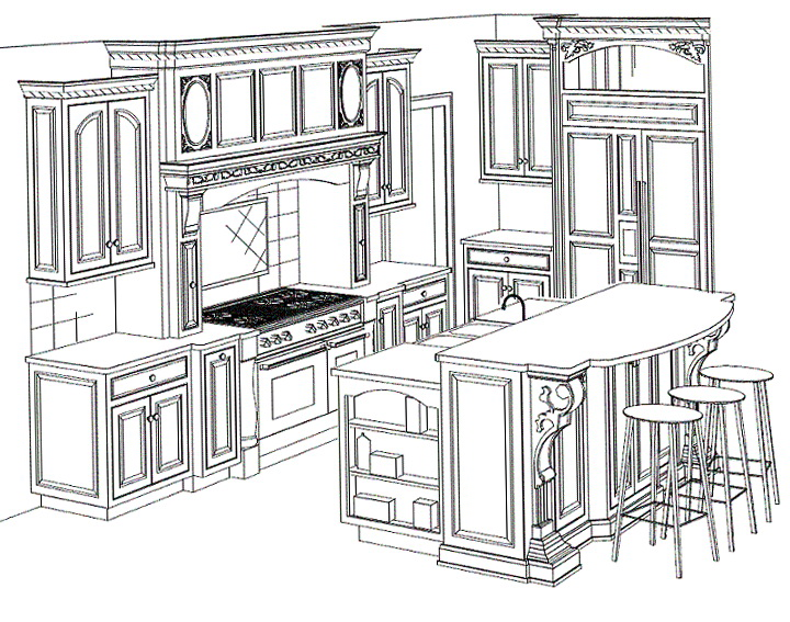 Kitchen Cabinets Design Plans