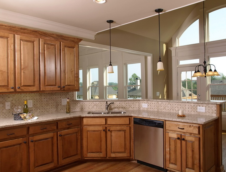 Kitchen Color Ideas With Oak Cabinets