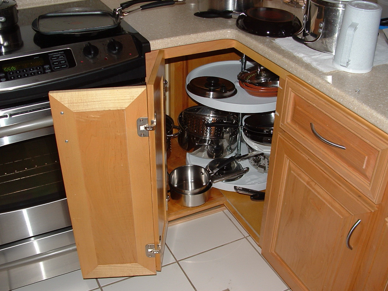 Kitchen Corner Cabinet Storage
