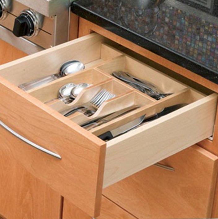 Kitchen Drawer Organizer Wood