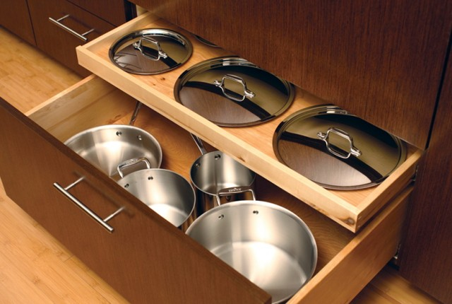 Kitchen Drawer Organizers For Pots And Pans