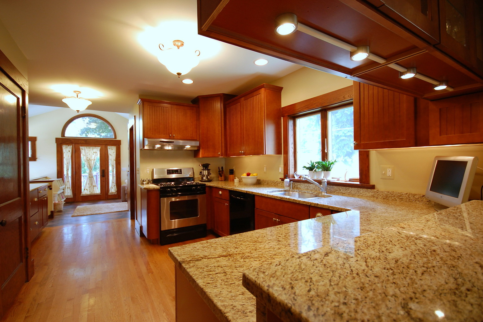 Kitchen Granite Countertops Design