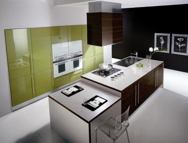Kitchen Island Design With Stove
