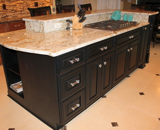 Kitchen Island Designs With Stove Top