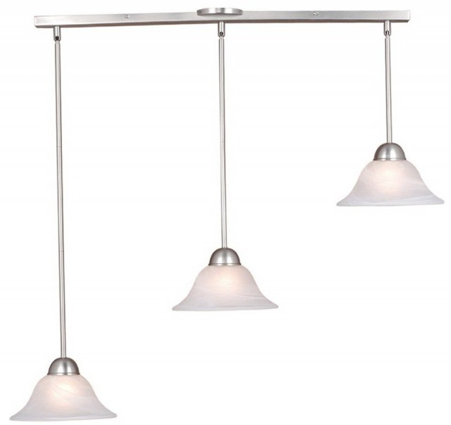 Kitchen Island Lighting Brushed Nickel
