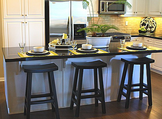 Kitchen Island With Stools For Sale