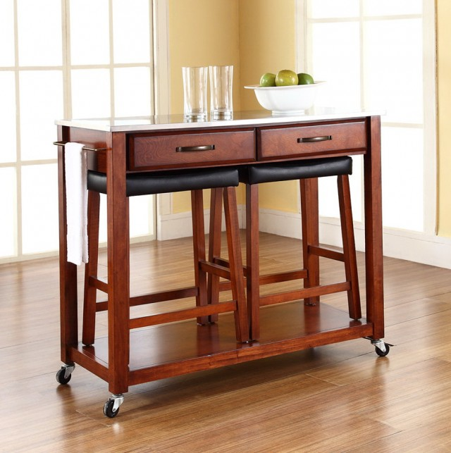 Kitchen Islands And Carts With Stools