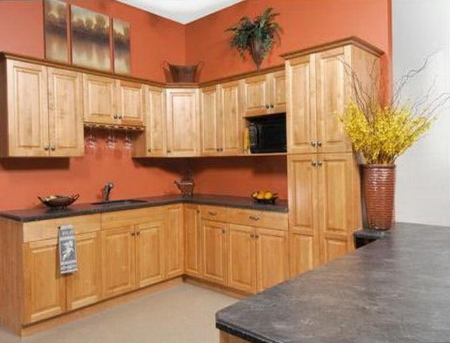 Kitchen Paint Ideas For Oak Cabinets