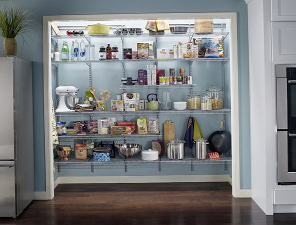 Kitchen Pantry Ideas Closet