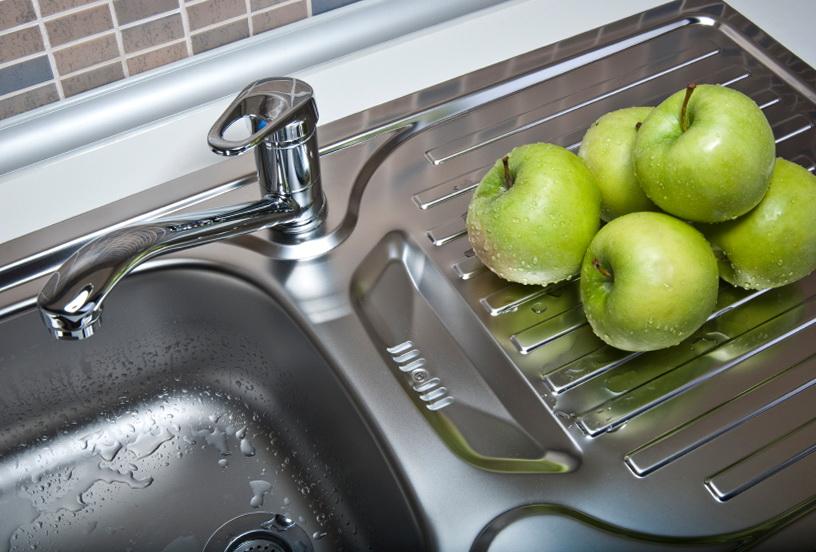 Kitchen Sink Clogged Standing Water