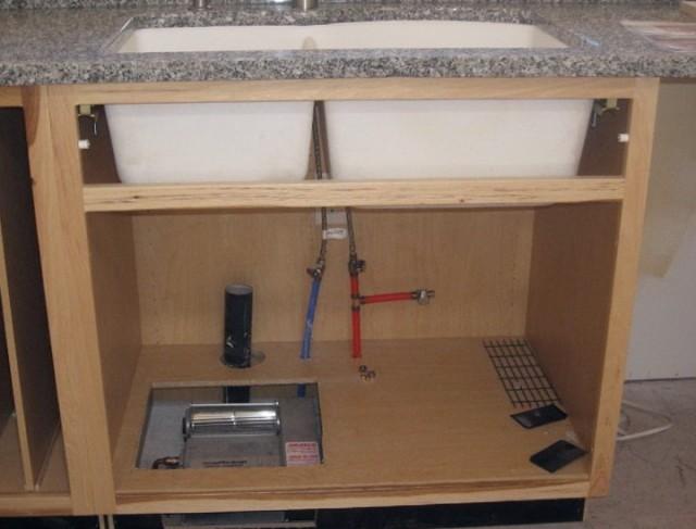 Kitchen Sink Plumbing Rough In