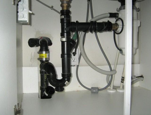 Kitchen Sink Plumbing With Disposal
