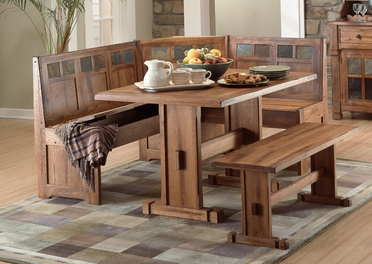 Kitchen Tables Sets With Benches