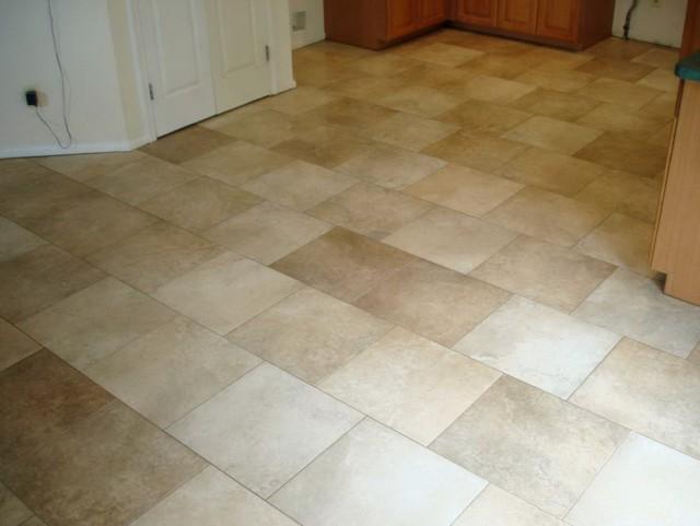 Kitchen Tile Flooring Patterns