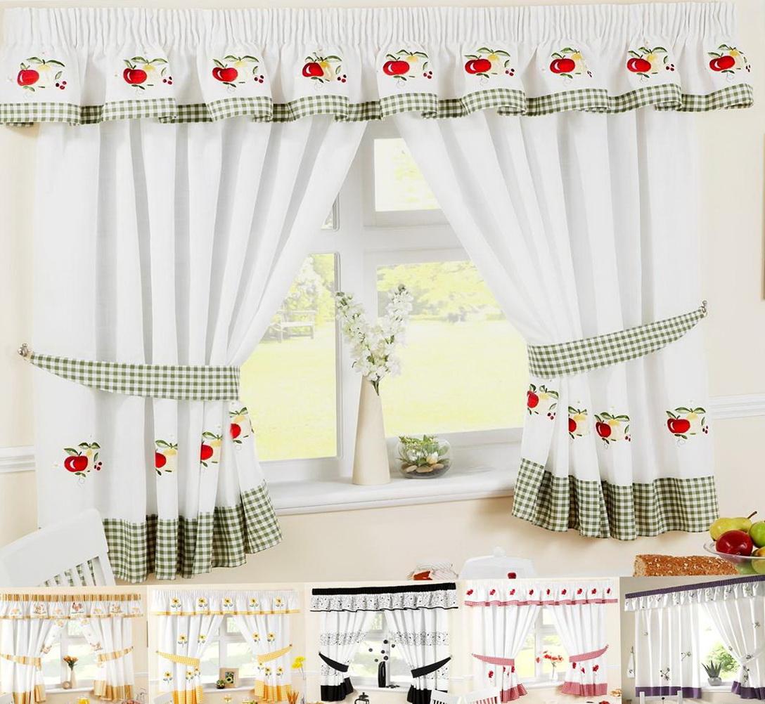 Kitchen Window Curtains Ideas