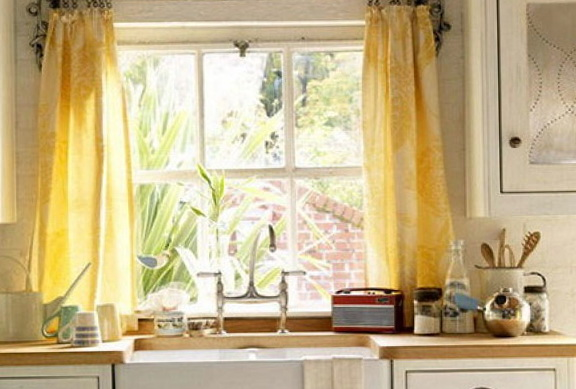 Kitchen Window Curtains Pictures