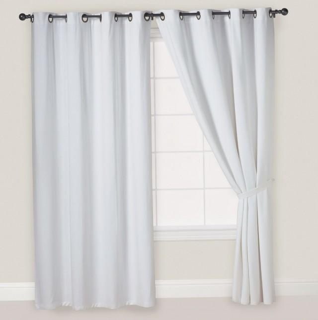 Kitchen Window Curtains White