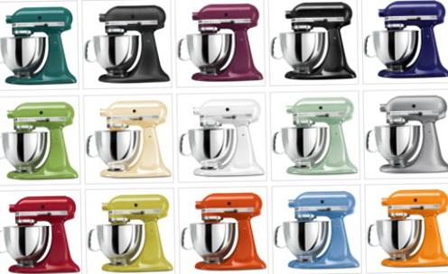 Kitchenaid Mixers Colors