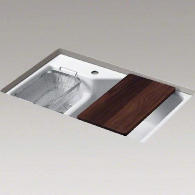 Kohler Kitchen Sinks Cast Iron Undermount