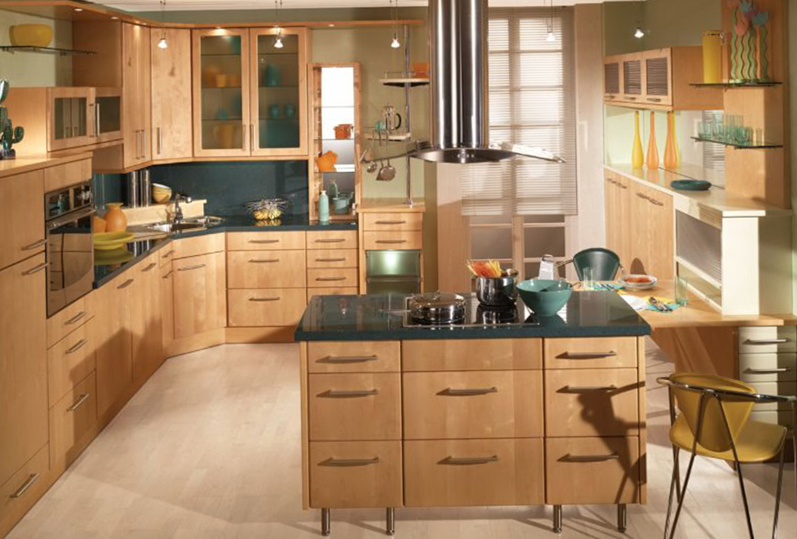 L Shaped Kitchen Design