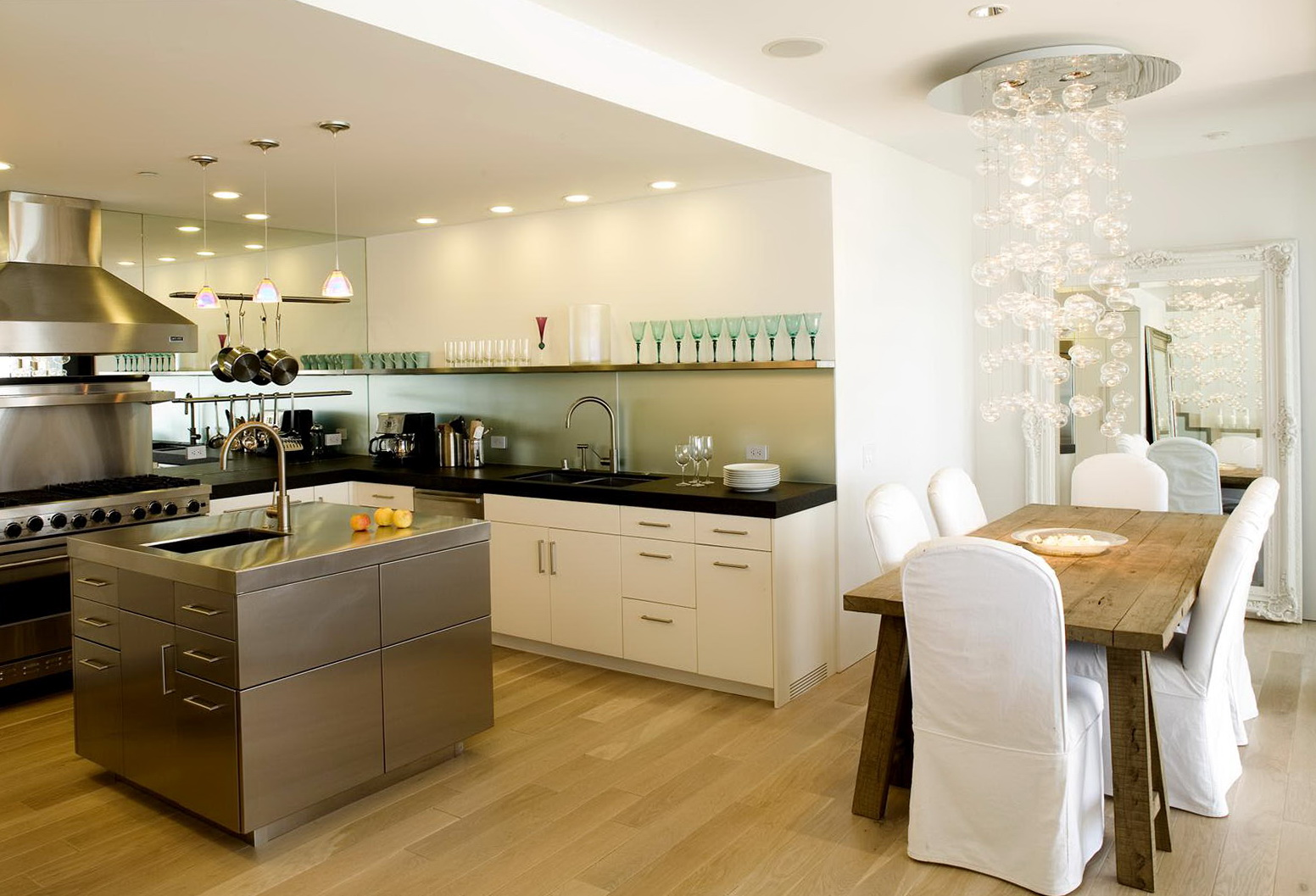L Shaped Kitchen Diner