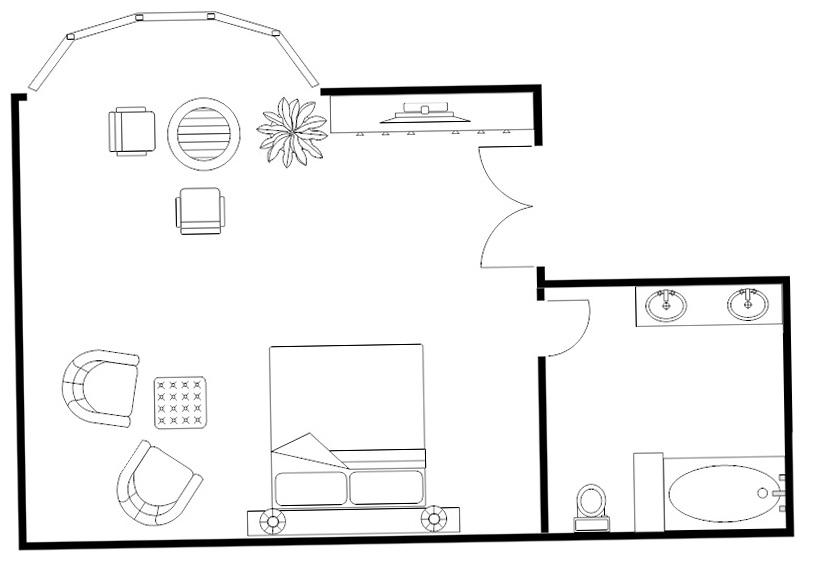Large Master Bedroom Floor Plans