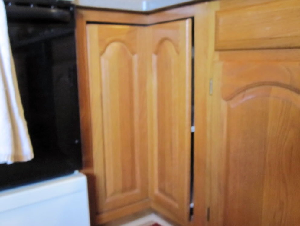 Lazy Susan Cabinet Door