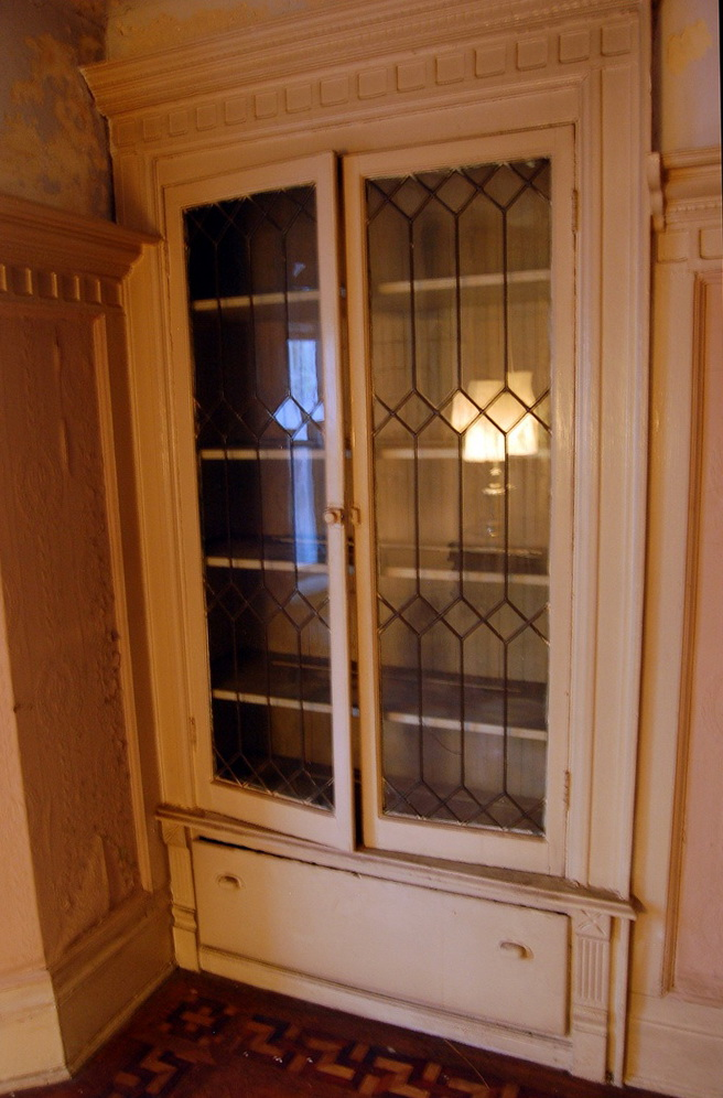 Leaded Glass Kitchen Cabinet Doors