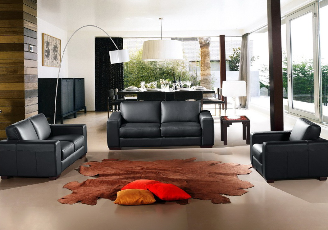 Leather Living Room Sets For Sale