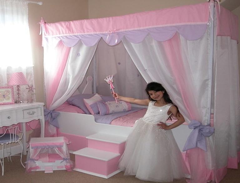 Little Girls Canopy Beds