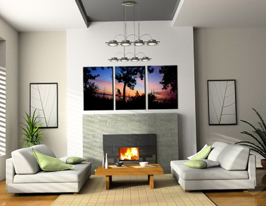Living Room Artwork Ideas