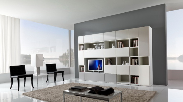 Living Room Cabinets And Shelves