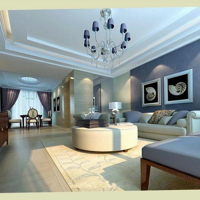 Living Room Colors Blue