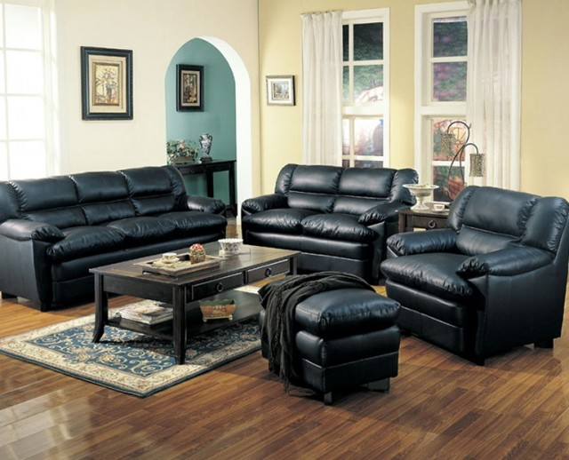 Living Room Furniture Sets Black
