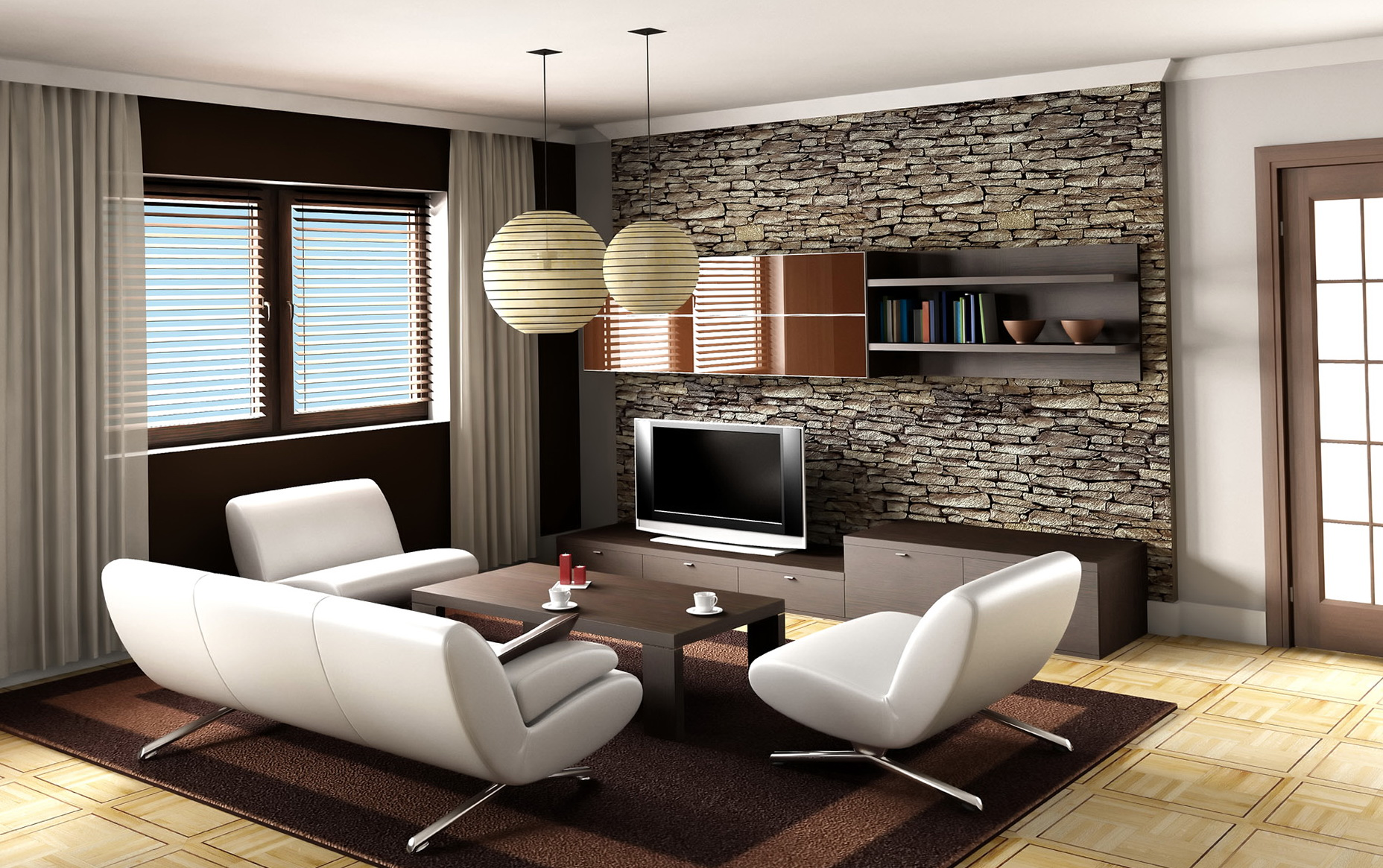 Living Room Lighting Ideas Apartment