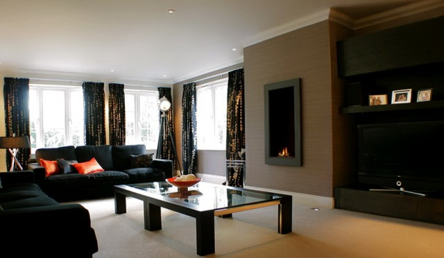 Living Room Paint Ideas With Black Furniture