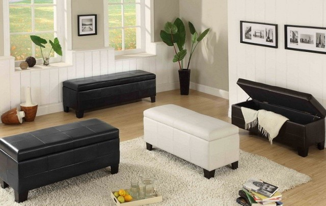 Living Room Storage Bench
