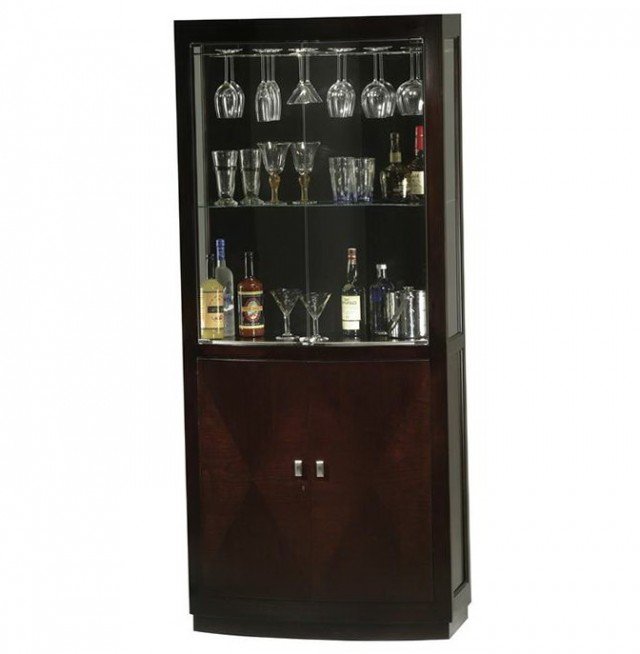 Locking Liquor Cabinet Plans