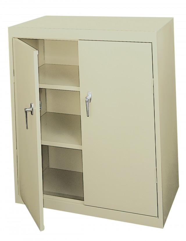 Locking Storage Cabinet Handles