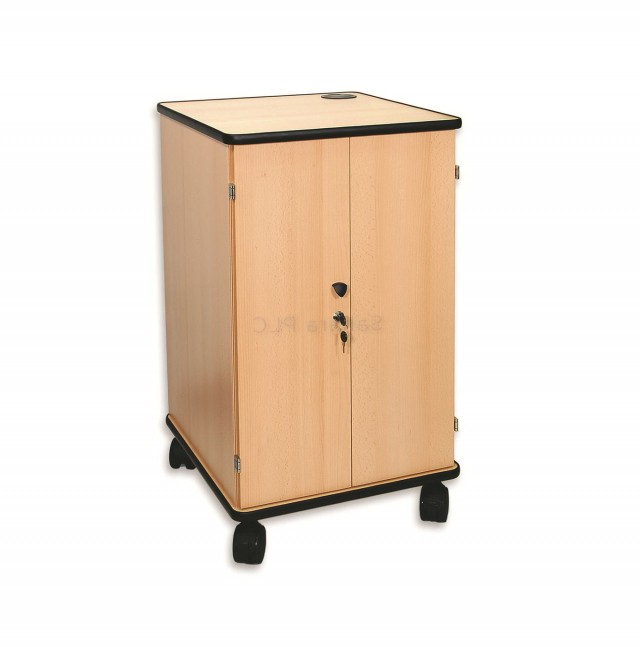 Locking Storage Cabinet On Wheels