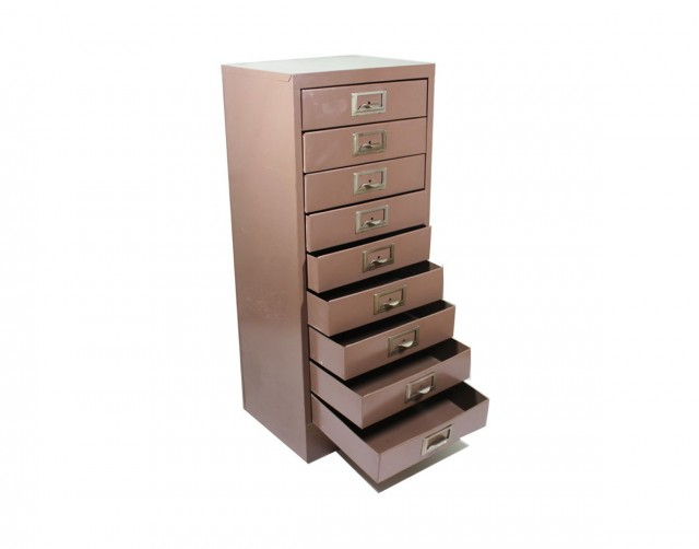 Locking Storage Cabinet With Drawers