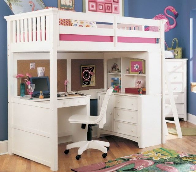 Loft Beds For Girls