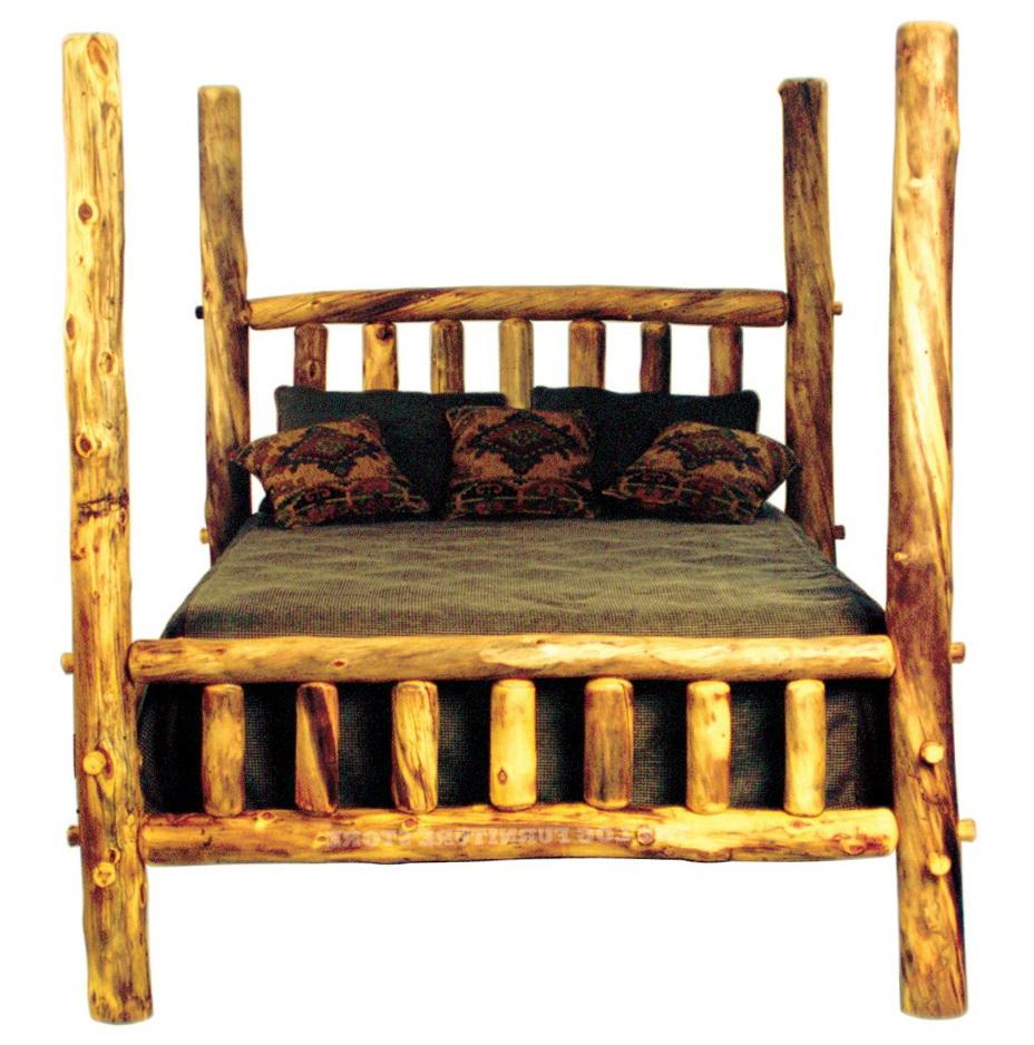Log Bed Frames Oregon