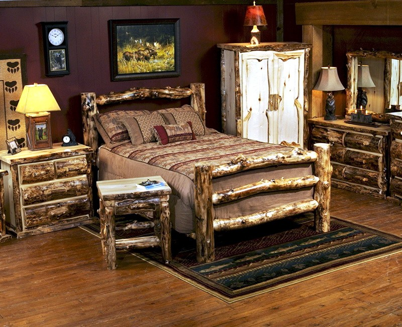 Log Bedroom Sets Discounted
