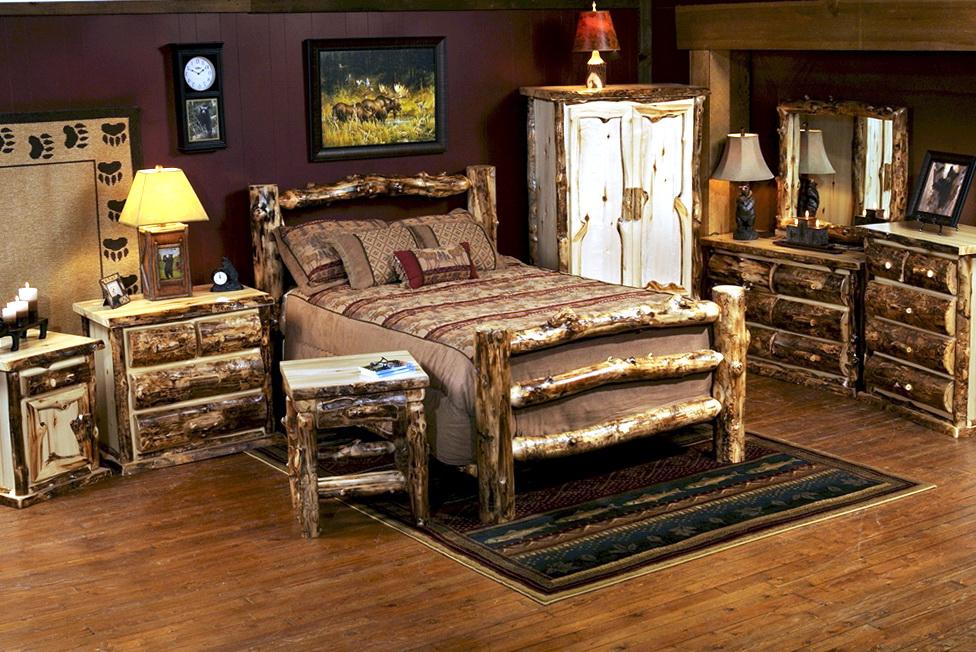Log Bedroom Sets Discounted
