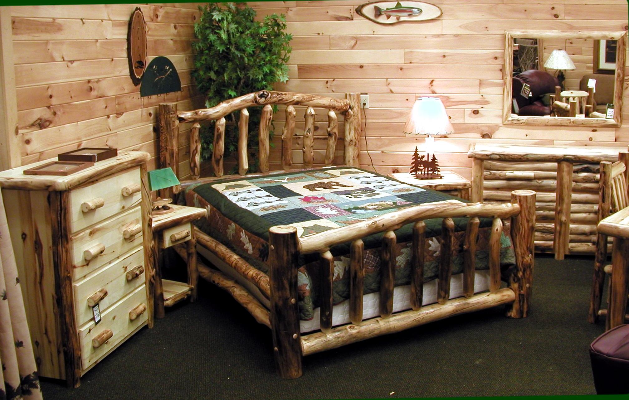 Log Bedroom Sets For Sale