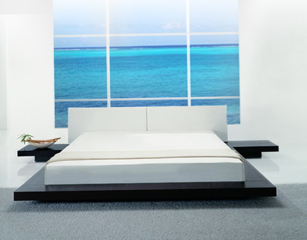 Low Modern Platform Beds
